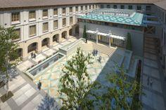 Rehabilitación del edificio Pignatelli sede del Gobierno de Aragón