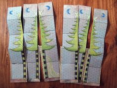 Yule Cards by Phizzychick!, via Flickr