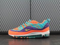 "quality design 81e58 0a6ba NIKE AIR MAX 98 ""CONE"" Cone   Tour Yellow 924462-800"