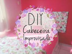 DIY / Faça você mesma: Cabeceira Improvisada de Isopor // fácil e barata...