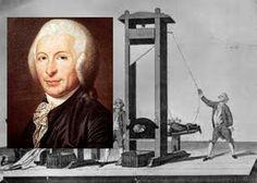La guillotina, trágico ícono de la Revolución Francesa de 1789, debe su nombre al cirujano Joseph Ignace Guillotin.