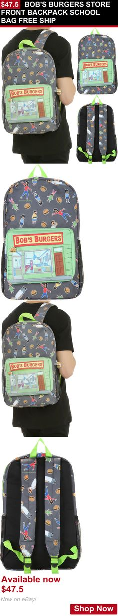 Unisex accessories: Bobs Burgers Store Front Backpack School Bag Free Ship BUY IT NOW ONLY: $47.5