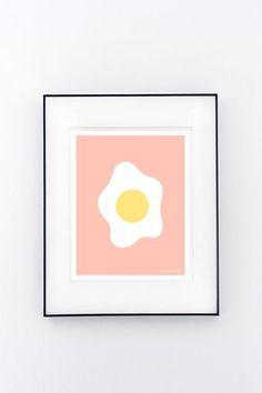 29 Quirky Home Buys Under $29 #refinery29  http://www.refinery29.com/cheap-home-decor#slide-18  A pretty egg-cellent print, no?...