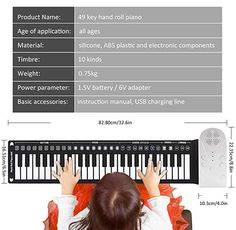 Regardless of your age or skill level, this roll-up piano makes for a great gift idea. Shop Hand roll portable piano only on Exalt club. Portable Piano, Absolute Zero, Easy Rolls, Can You Take, Upright Piano, Keyboard Piano, The Black Keys, Hand Roll, Singing