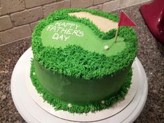 Golf Cake for Father's Day