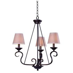 KITCHEN TABLE $76.22 Basket 3-Light Oil Rubbed Bronze Chandelier-93113ORB - The Home Depot Light Bulb Base Code E12