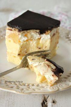 cytrynowiecc Polish Desserts, Desserts To Make, Polish Recipes, Cookie Desserts, Sweet Desserts, Sweet Recipes, Cake Recipes, Dessert Recipes, Sweets Cake