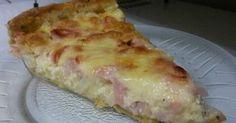 Fabulosa receta para Tarta de cebolla, jamón y muzzarella. Super jugosa y cremosa esta tarta de cebolla, jamón y muzzarella!!!
