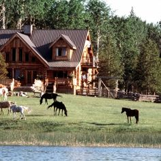 Boutique wilderness lodge at Siwash Lake Ranch