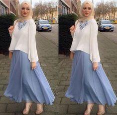 Abaya Style 377035800053346693 - Latest Casual & Party Look Hijab & Blouse Abaya – Girls Hijab Style & Hijab Fashion Ideas Source by zarithaman Hijab Casual, Hijab Outfit, Hijab Chic, Hijab Dress, Casual Hijab Styles, Swag Dress, Chic Dress, Dress Casual, Casual Chic