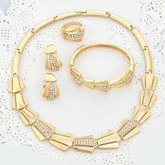 New Arrival Hot Sale High Quality  Fashion Gold Dubai Jewelry,Antique 2014 Wedding Jewelry, – USD $ 12.99