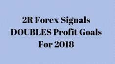 In 2018, 2R Forex Signals at Trade The Forex Market did +46.6R. That means we made 46.6 times the amount we risked on each trade. (Read more...)