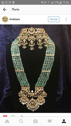 antique choker. pearls and gems; beautiful wedding jewellery