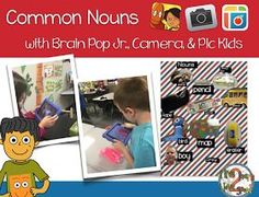 Teaching Common Nouns with iPads