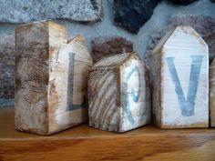 Bloques de Madera Cuadrados Naturales de Madera para Manualidades de Bricolaje artesan/ías en Madera para ni/ños decoraci/ón de Juguetes para el hogar Wytino Cubos de Madera # 1
