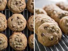 For perfectly baked cookies, use an ice cream scoop and space the balls 5 to a sheet.