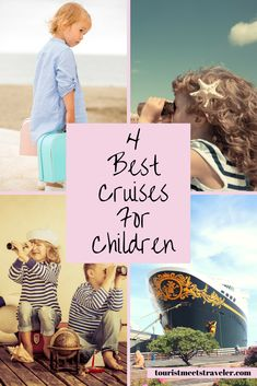 If you are trying to find a cruise for the entire family.  Here are the 4 best cruises for children.
