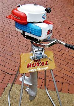 1948 Royal Outboard Motor