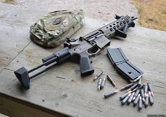 7.62x39 AR - my next build for a client will share many attributes with this set up.
