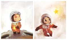 Tiny Cosmonaut by Duffzilla on DeviantArt
