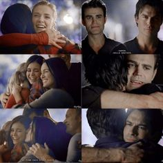 """"""" That's the promise of peace. That one day, after a long life, we find each other again. """" ♡ #thevampirediaries #tvdforever"""