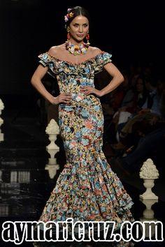 Trajes de flamencas 2016