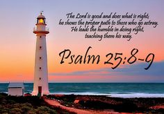 Psalm 25:8-9