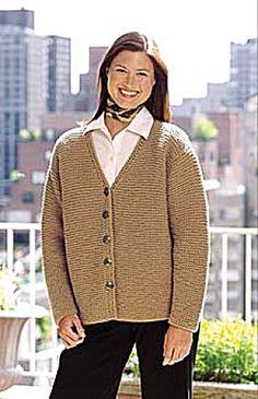 Knit Quick-Knit Classic Cardigan