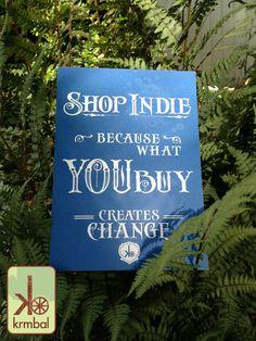 Shop Indie 5x7 Art Print