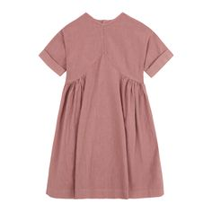 V Linen Dress Yellowpelota Children- A large selection of Fashion on Smallable, the Family Concept Store - More than 600 brands.