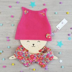 bonnet petit chat lilaxel rose et liberty betsy fluo the – www.lepetitmondedelilaxel.com