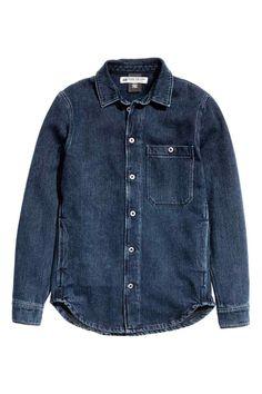 79387ec51  Denim  shirt  H M  closetheloop Moda Maschile