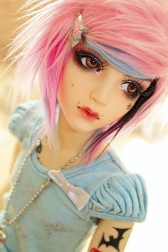 SoftPoison's gorgeous BJD doll Candy <3