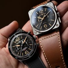 Love these Bell & Ross pieces.