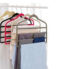 Magic Multi Layer Pants Drying Flocking Hanger Trousers H... https://www.amazon.com/dp/B00VWBMYOG/ref=cm_sw_r_pi_dp_x_QAaXzbH6BGBT4