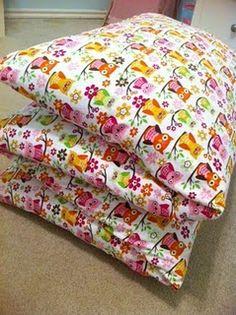 Pillow mattress tutorial.