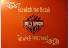 Harley Davidson moves the soul!