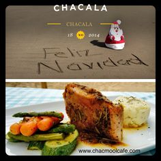 Christmas by the beach @chacmoolcafe