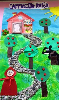 Gruppo fb open The door Fairy Tale Projects, Fairy Tale Crafts, Fairy Tale Theme, Fairy Tales, Hand Crafts For Kids, Projects For Kids, Diy For Kids, 3 Little Pigs Activities, Fairy Tale Activities