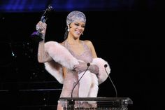 Rihanna Shows Up Nearly Naked to the CFDAs, Wins the Internet Again