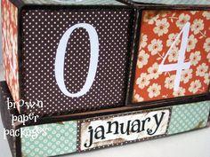 {calendar blocks} - SIMPLY KIERSTE