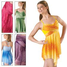 discount dancewear solutions Glitter Mesh Dress $40