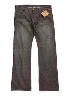 True Religion Brown Corduroy Pants--Sizes 40X34, 42X34, and 44X34