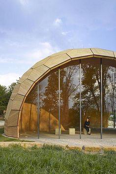 The Landesgartenschau Exhibition Hall
