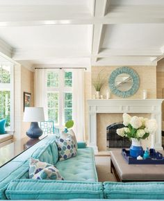 Cozy coastal living room decorating ideas (71)