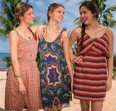 Beautiful summer dresses! Want!