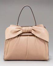 pretty bow.  pretty bag.