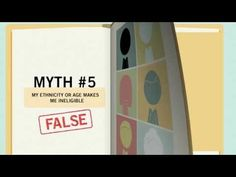 Federal Student Aid -- A nice video outlining some major Myths About Financial Aid