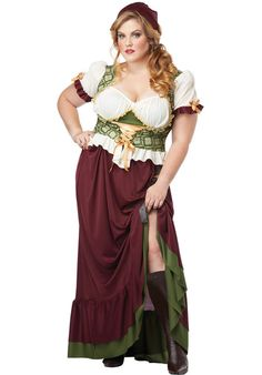 Renaissance Wench Costume, Plus Size Fancy Dress - Plus Size Costumes at Escapade™ UK - Escapade Fancy Dress on Twitter: @Escapade_UK