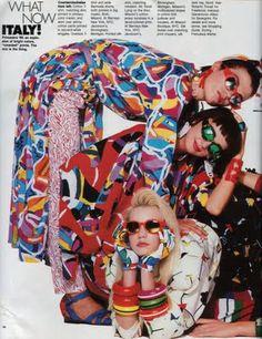 VINTAGE DENISEBRAIN: 80s fashion redux, part 9: Polka dots hit the spot in the 80s